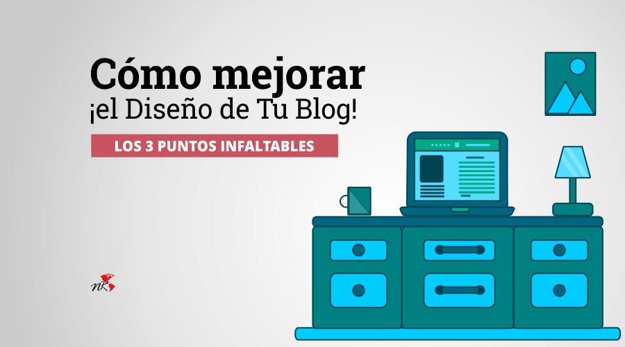diseño de un blog